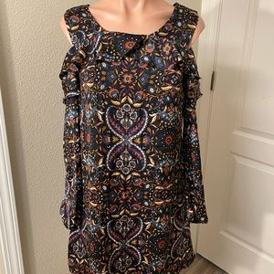 Xhilaration Off Shoulder Dress Sz S
